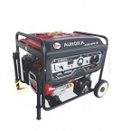 Aurora Petrol & Gas Generator 7.5KVA - Age7900Ye – Red & Black price in Pakistan