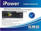 IPOWER UPS 1000VA Brand: iPower Product Code: iPower PG1200