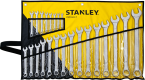 Combination Wrench Sets, 6; 7; 8; 9; 10; 11; 12; 13; 14; 15; 16; 17; 18; 19; 20; 21; 22; 23; 24; 25; 27; 30; 32 mm STANLEY BRAND PRICE IN PAKISTAN