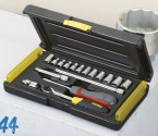 "15-Piece 1/2"" Set, Socket Sets, 8- 10- 11- 12- 13- 14- 15- 16- 17- 19- 22 mm STANLEY BRAND PRICE IN PAKISTAN"