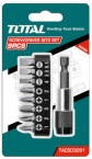 TOTAL 9pcs SCREWDRIVER BITS SET (TACSD3091) price in Pakistan