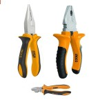 3 Pcs Pliers Set – Silver And Yellow price in Pakistan