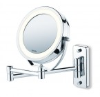 BS 59 ILLUMINATED COSMETIC Swiveling mirrors – Normal and 5x magnification – Wall and stand	ORIGINAL BEURER BRAND PRICE IN PAKISTAN