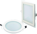 6W LED Glass Panel Ceiling Light ROUND / SQUARE OSAKA BRAND PRICE IN PAKISTAN