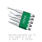 TOPTUL 5 Pcs Chisel Set Pin Punch TOPTUL GAAV0501 price in Pakistan