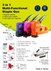 3 in 1 MULTI FUNCTIONAL STAPLE GUN PRICE IN PAKISTAN