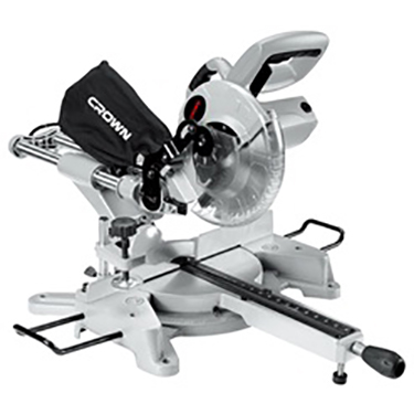 CROWN Miter Saw Sliding CT15109 10 1800w 4800rpm