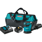 "18V LXT® Lithium‑Ion Cordless 5"" Random Orbit Sander Kit (5.0Ah) ORIGINAL MAKITA BRAND PRICE IN PAKISTAN"