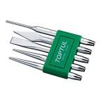 5Pcs Chisel Set Pin Punch:4X9.5X150 GAAV0501 – Green price in Pakistan