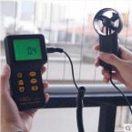 Digital Air Flow Anemometer AirVelocity Measuring Range 03 45 ms AR826 Price In Pakistan
