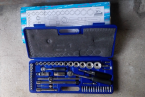 52 PCS SOCKET SET 6PT KTC 4552MR MODEL KTC TAIWAN