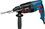 ROTARY HAMMER DRILL (SDS PLUS) GBH 2-26 DRE, Rated power input 800 W, Impact energy 3.5 J, Drilling dia. In concrete with SDS-Plus flute drill bit 4 - 26 mm, Max. drilling diameter, steel,  (with drill chuck) 13 mm ORIGINAL BOSCH BRAND PRICE IN PAKIS