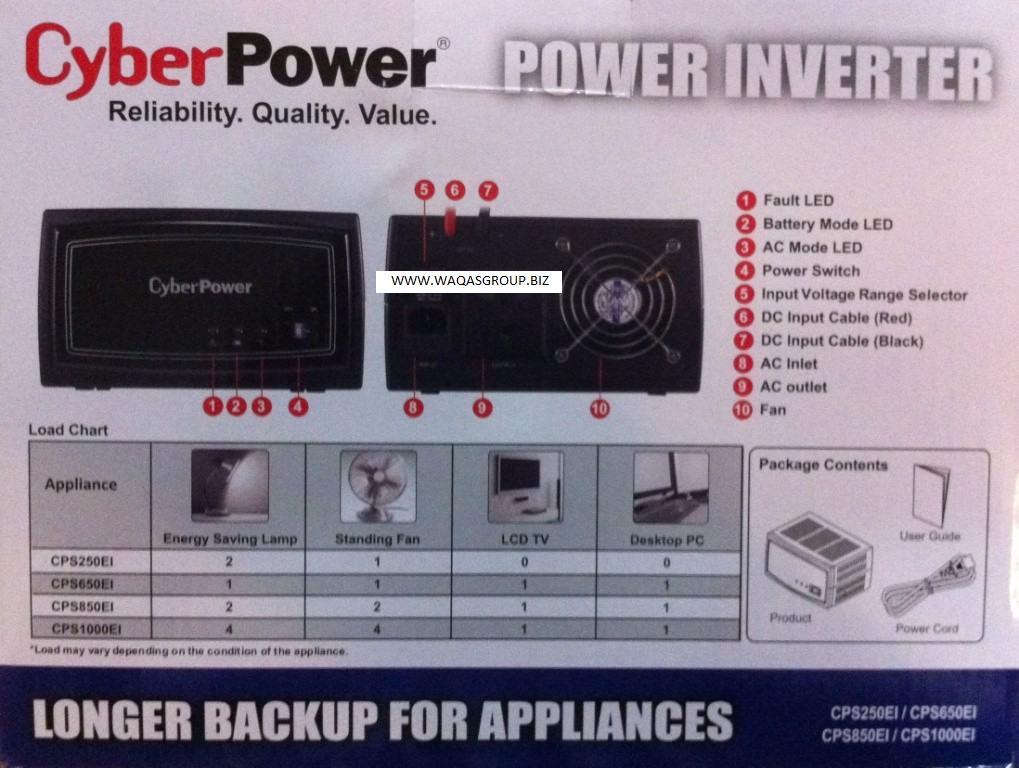 CYBERPOWER UPS 1000VA NEW ARRIVAL CyberPower 1000VA - Waqas Group