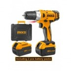 Ingco Cordless drill/Impact driver combo kit CKLI18021 price in Pakistan